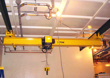 Electric Overhead Travelling Crane , 5 Ton Bridge Crane Low Power Consumption