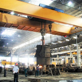 Metallurgy Melt Shop Double Beam Overhead Crane 70 Ton Electric Winch Lifting