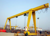 100 Ton Single Beam A Frame Gantry Crane With Strong Winch For Warehouse / Railway
